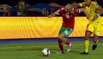 ابرز ماقدمه لاعب النصر مع منتخب المغرب امام بنين