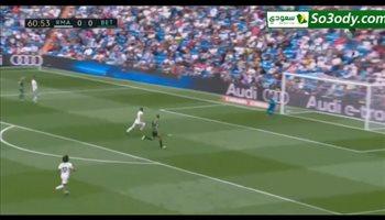 أهداف مباراة .. ريال مدريد 0 - 2 ريال بيتيس .. الدوري الاسباني