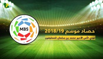 حصاد موسم 2018/19 من دوري كأس الأمير محمد بن سلمان للمحترفين