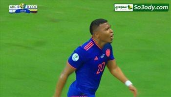 الهدف الاول لكولومبيا في مرمى الارجنتين .. كوبا امريكا 2019