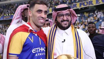 """حمد الله: تمنيت فوز أمرابط بـ""""أفضل لاعب"""" وأعد بتحقيق أرقام جديدة في السعودية"""