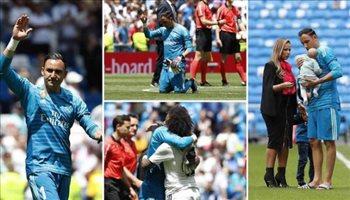 وداع ملحمي لكيلور نافاس في مباراته الأخيرة مع ريال مدريد