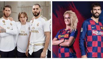 صور  أيهم أجمل ؟!.. جميع قمصان الأندية الأوروبية الكبرى للموسم المقبل