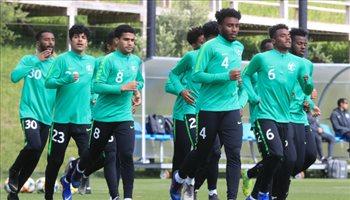 شباب الأخضر يختتم استعداداته لودية البرتغال قبل مونديال بولندا