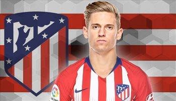 رسميا.. أتلتيكو مدريد يوجه ضربة للريال بالتعاقد مع ماركوس يورينتي
