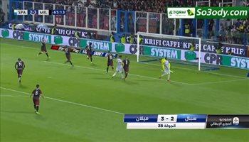 أهداف مباريات الجولة الاخيرة من الدوري الايطالي