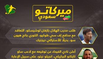 ميركاتو سعودي| بديل ديجنيك في الهلال وتحذير لكاريلو من المملكة