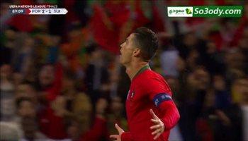 أهداف مباراة .. البرتغال 3 - 1 سويسرا .. دوري الأمم الأوروبية