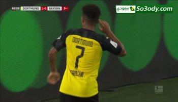 هدف بروسيا دورتموند الثاني في بايرن ميونخ بالسوبر الألماني