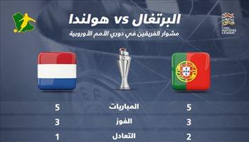 دوري الأمم الأوروبية| مشوار النهائي.. البرتغال تتسلح بالأرض وهولندا لمواصلة المفاجأة