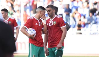بعد أزمة ركلة الجزاء .. حمد الله يخرج من معسكر المغرب قبل انطلاق أمم إفريقيا