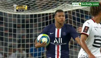 أهداف مباراة .. باريس سان جيرمان 2 - 1 رين.. السوبر الفرنسي