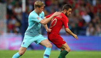 برناردو سيلفا يخطف لقب الأفضل في دوري الأمم الأوروبية