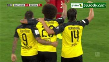 هدف بروسيا دورتموند الأول في بايرن ميونح بالسوبر الألماني