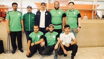 رماة السعودية يشاركون في كأس العالم