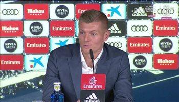 كروس: التفاوض مع بوجبا لا يزعجني وعمليا سأعتزل الكرة في ريال مدريد