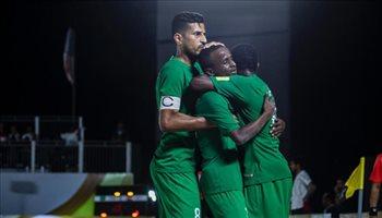 السعودية تخسر أمام مصر في كأس نيوم للكرة الشاطئية