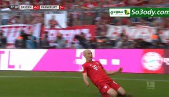 اهداف مباراة .. بايرن ميونخ 5 - 1 آينتراخت فرانكفورت .. الدوري الالماني