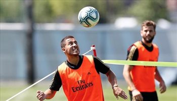 هازارد يرفض قميص كريستيانو رونالدو ويختار رقمه في ريال مدريد !