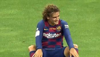 جريزمان يكشف عن مفاجآة سعيدة لجماهير برشلونة