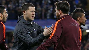هازارد يعادي جماهير ريال مدريد مبكرا بتصريحات مثيرة عن ميسي
