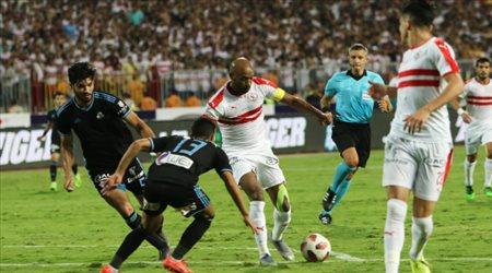 ثنائية نجم الهلال تهدي الزمالك لقب كأس مصر الـ 27 في تاريخه