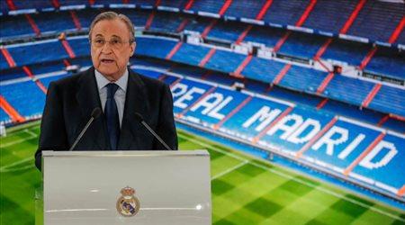 """رئيس رابطة الدوري الإسباني يسب فلورنتينو بيريز.. """"مجنون وجاهل"""""""
