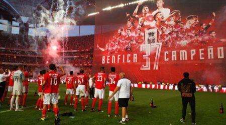 رسميا.. بنفيكا بطلا للدوري البرتغالي للمرة الـ37 في تاريخه