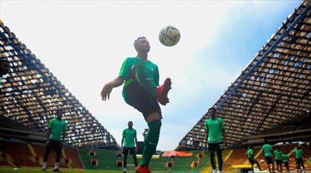 الأخضر الأولمبي يعاود تدريباته بعد التعادل مع الأردن