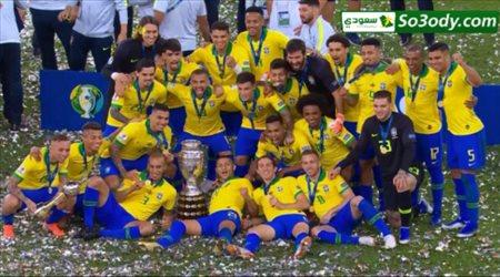 ملخص مباراة .. البرازيل 3 - 1 بيرو .. نهائي كوبا امريكا 2019