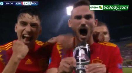 أهداف مباراة إسبانيا وبولندا.. يورو تحت 21 عاما