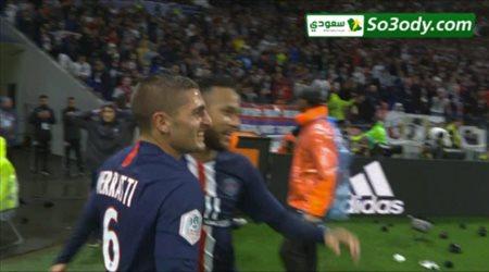 أهداف مباراة .. ليون 0 - 1 باريس سان جيرمان .. الدوري الفرنسي