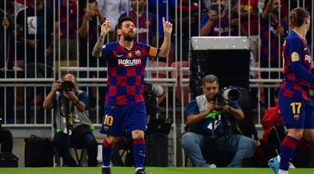 ميسي يرد بقوة على أنباء رحيله عن برشلونة.. نحو الدوري الأرجنتيني