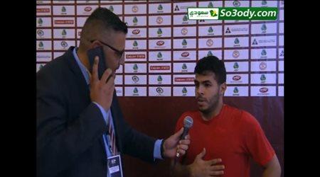 تصريحات يحيي الشهري وتامر صيام عقب مباراة منتخب فلسطين والسعودية