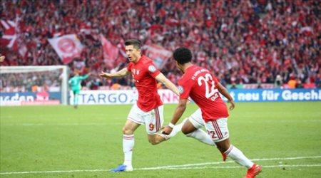 فيديو| بايرن ميونيخ يتوج بكأس ألمانيا على حساب لايبزيج ويكمل الثنائية المحلية