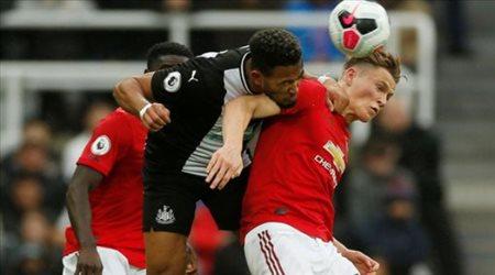 فيديو| بهدف نظيف.. مانشستر يونايتد يخسر مجددا في الدوري الإنجليزي أمام نيوكاسل