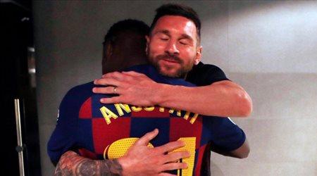 """أخيرا.. برشلونة ينجح في إيجاد خليفة ميسي """"أسطورة جديدة"""""""