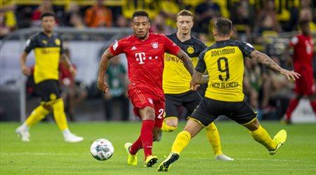 بايرن ميونيخ  بالقوة الضاربة أمام بروسيا دورتموند في الدوري الألماني