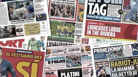صحف العالم ليوم الخميس| زيدان يستعد لريمونتادا ضد سيتي وبيانيتش يصدم باريس من أجل برشلونة