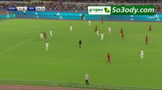 أهداف وركلات ترجيح .. ريال مدريد 6 - 7 روما .. مباراة ودية