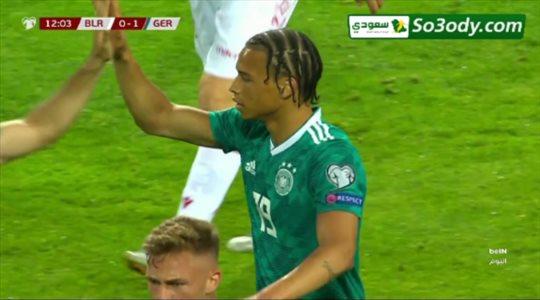 أهداف مباراة .. روسيا البيضاء 0 - 2 ألمانيا ..من تصفيات الأمم الأوروبية