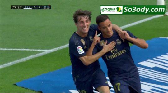 أهداف مباراة .. سيلتا فيجو 1 - 3 ريال مدريد .. الدوري الأسباني