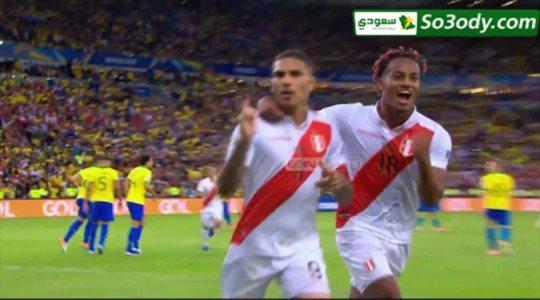 منتخب بيرو يحرز هدف التعادل و البرازيل ترد بالهدف الثاني في 3 دقائق .. نهائي كوبا امريكا 2019