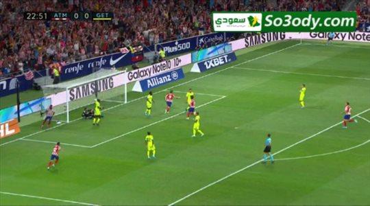 أهداف مباراة .. أتلتيكو مدريد 1 - 0 خيتافي .. الدوري الإسباني