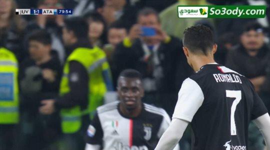 اهداف مباراة .. يوفنتوس 1 - 1 اتلانتا .. الدوري الايطالي