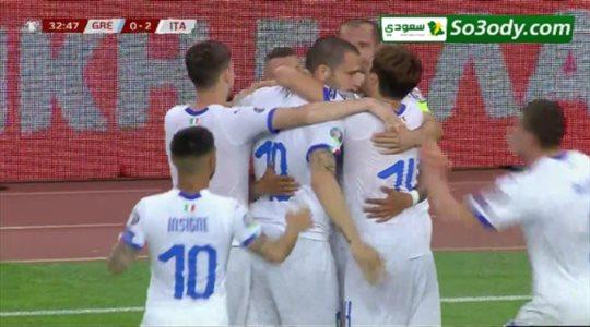 أهداف مباراة .. اليونان 0 - 3 ايطاليا .. تصفيات أمم أوروبا