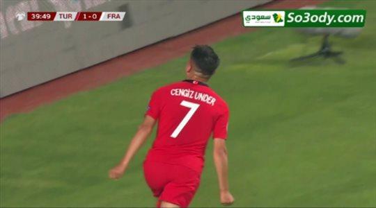 أهداف مباراة .. تركيا 2 - 0 فرنسا .. تصفيات أمم أوروبا