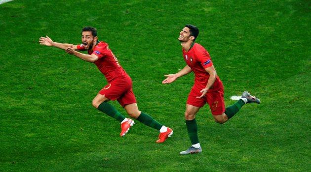 فيديو.. البرتغال بطلا لدوري الأمم الأوروبية بصاروخية في شباك هولندا