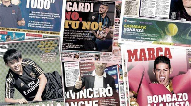 فيديوجرافيك| صحف العالم ليوم الأحد.. قنبلة في ريال مدريد وانبهار إسباني بأعجوبة الملكي القادمة