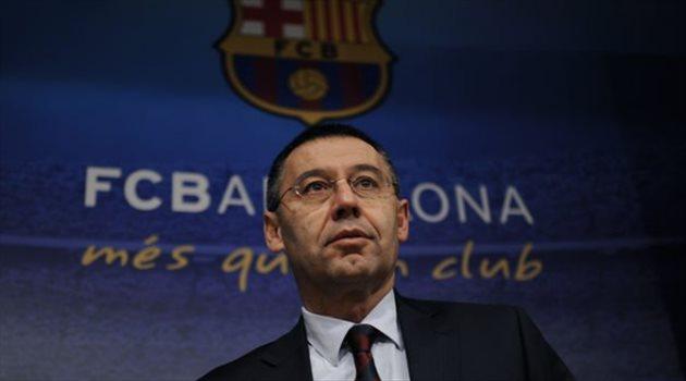 رئيس برشلونة بارتوميو